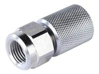 Manometernippel, R1/4, direkte  SMD20-G1/4-P-OR