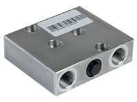 Dobbelt chok ventil for OMP/OMR