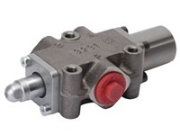 DF10/3AT17SLP, 3w-div.valve,   2 pos., springcent., sperical